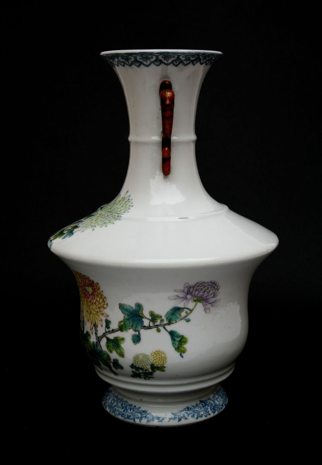 Antique Chinese Porcelain Vase Republic Yongzheng Mark